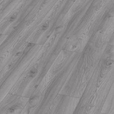 Ламинат 33 класса 12мм толщины Kronotex Mammut 3670 Дуб Макро светло-серый с 4-мя фасками и замком 5G