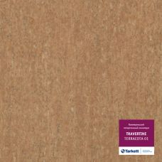 Tarkett  Travertine Terracotta 01 Линолеум