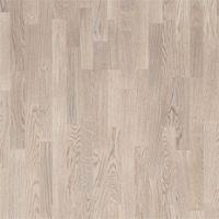 Focus Floor (Фокус Флор) Паркетная Доска Дуб Остро Белый Матовый (Oak Ostro White) Трехполосная