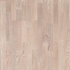 Focus Floor (Фокус Флор) Паркетная Доска Ясень Мистрал (ASH Mistral White Matt) Трехполосная